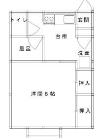 カーサM&T T202号室 見取図